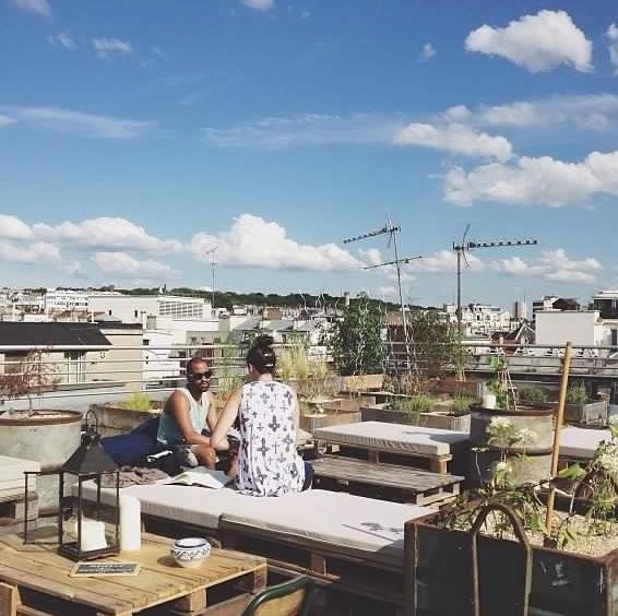 le perchoir un nouveau rooftop paris rise and shine. Black Bedroom Furniture Sets. Home Design Ideas