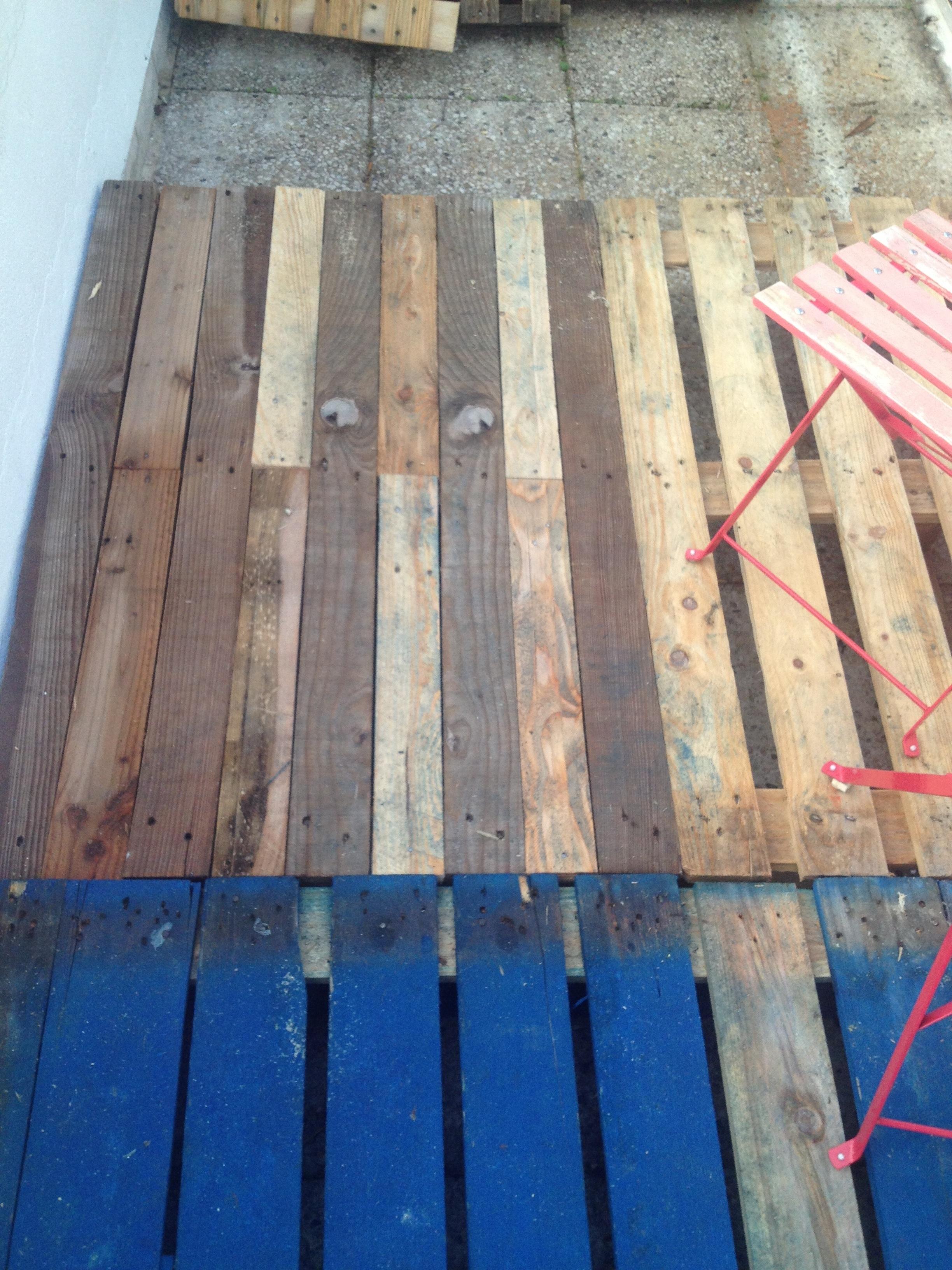 Préférence DIY : réaliser une terrasse avec des palettes – Rise And Shine SS51