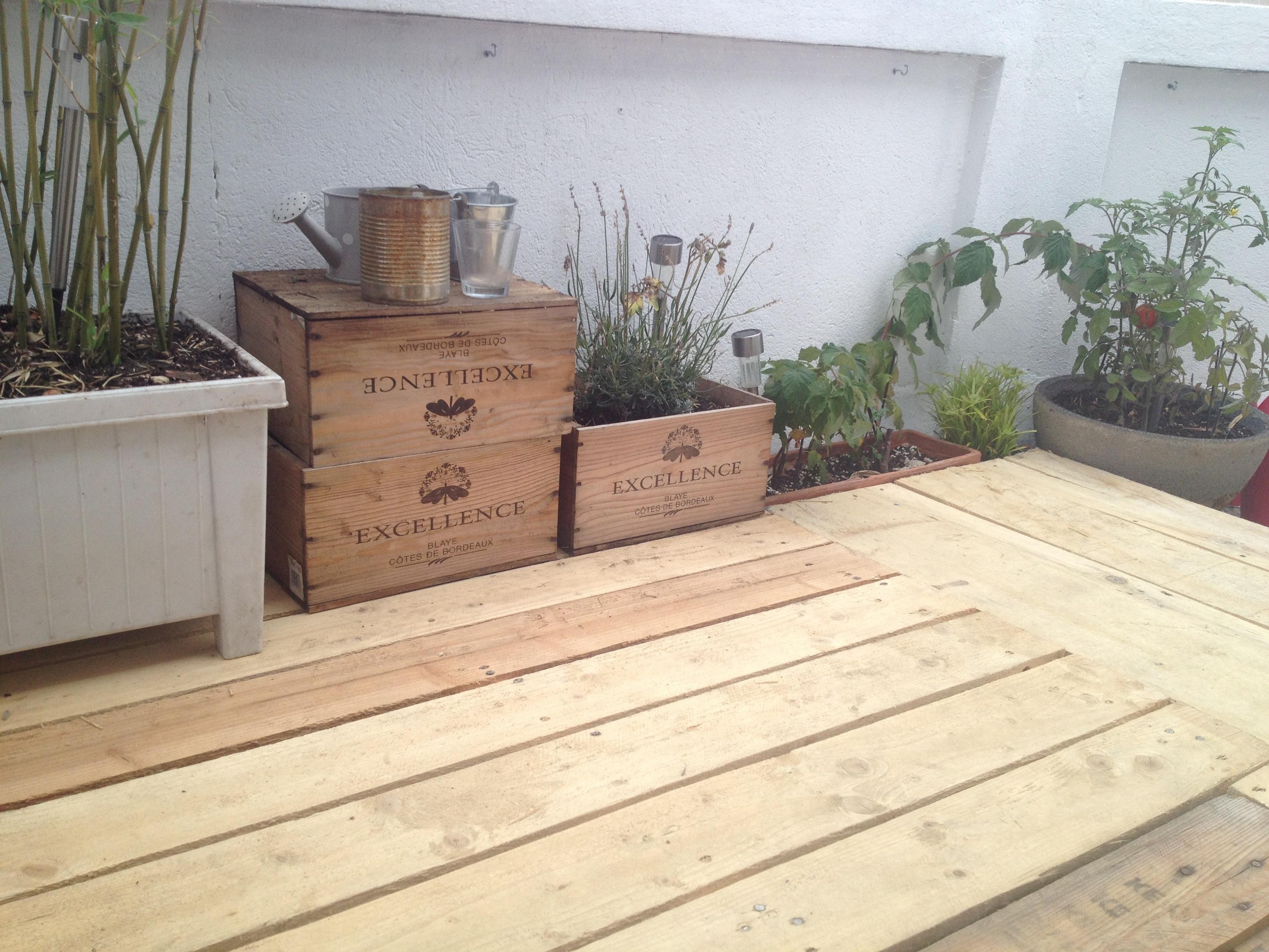 Terrasse En Palette Duree De Vie terrasse bois diy