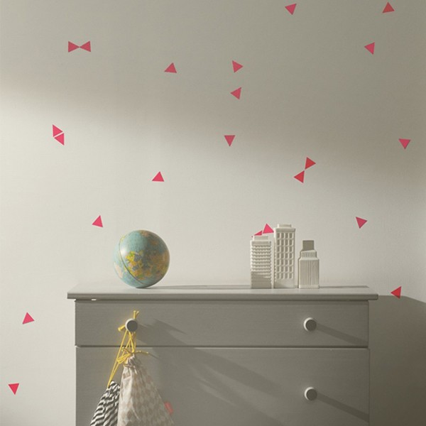 ferm-living-stickers-triangles-rose-neon