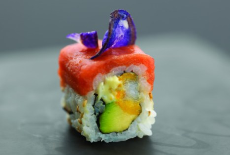 spicy ebi roll