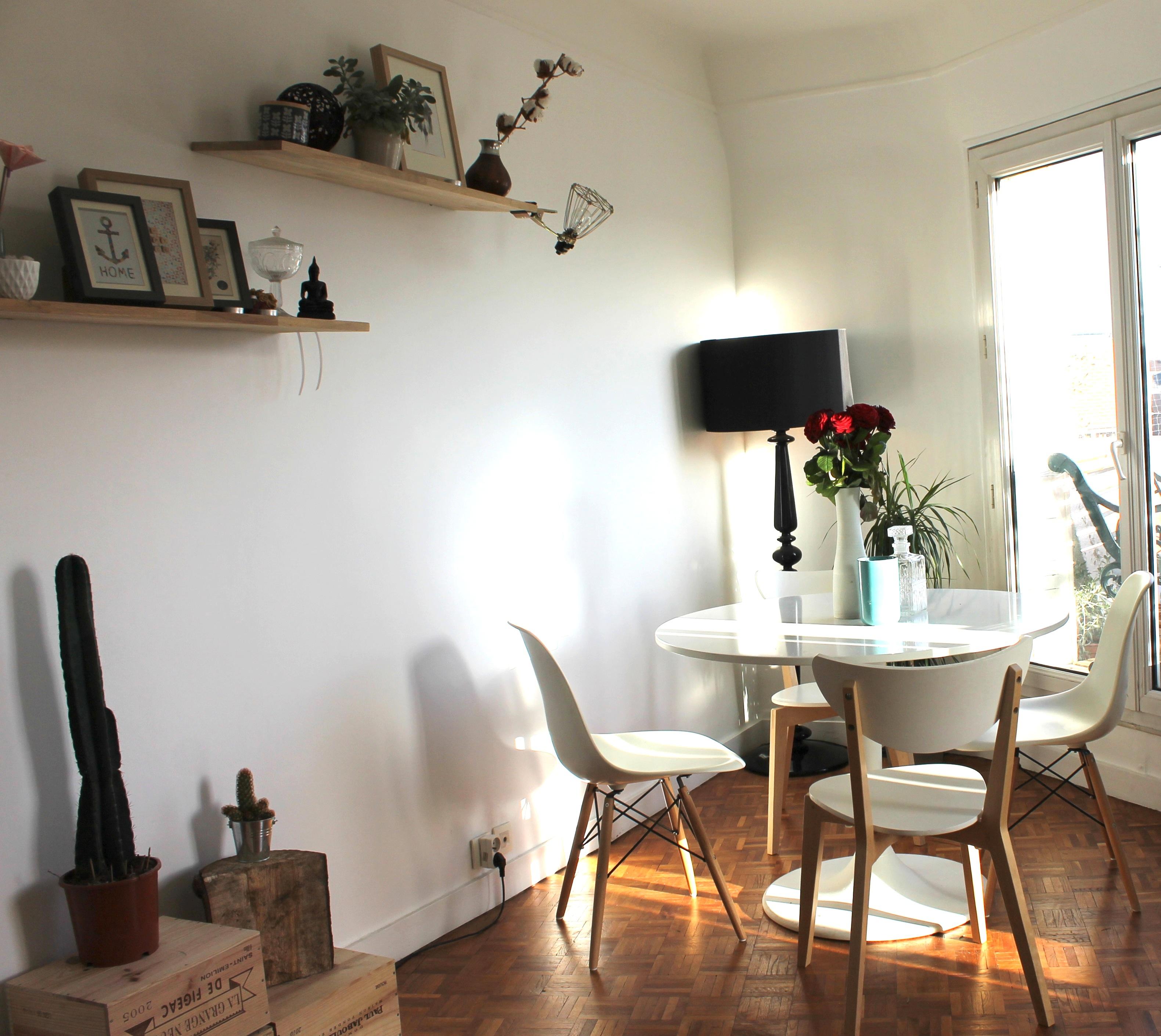 bienvenue chez moi salle manger rise and shine. Black Bedroom Furniture Sets. Home Design Ideas