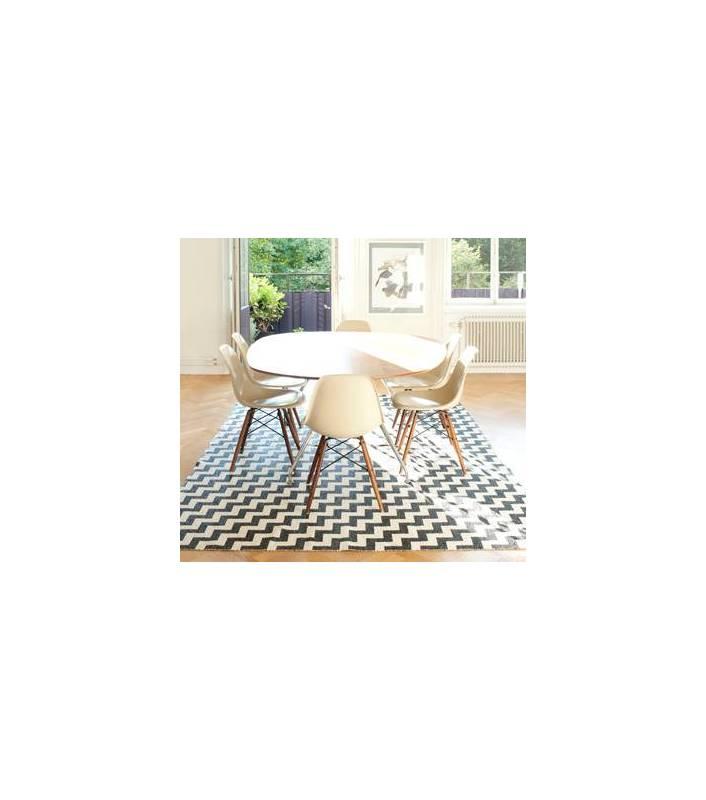 tapis-gunnel-noir-150x200-cm
