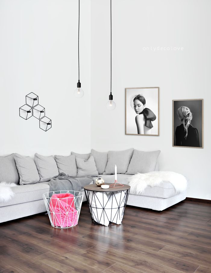 le panier wire basket de ferm living rise and shine. Black Bedroom Furniture Sets. Home Design Ideas