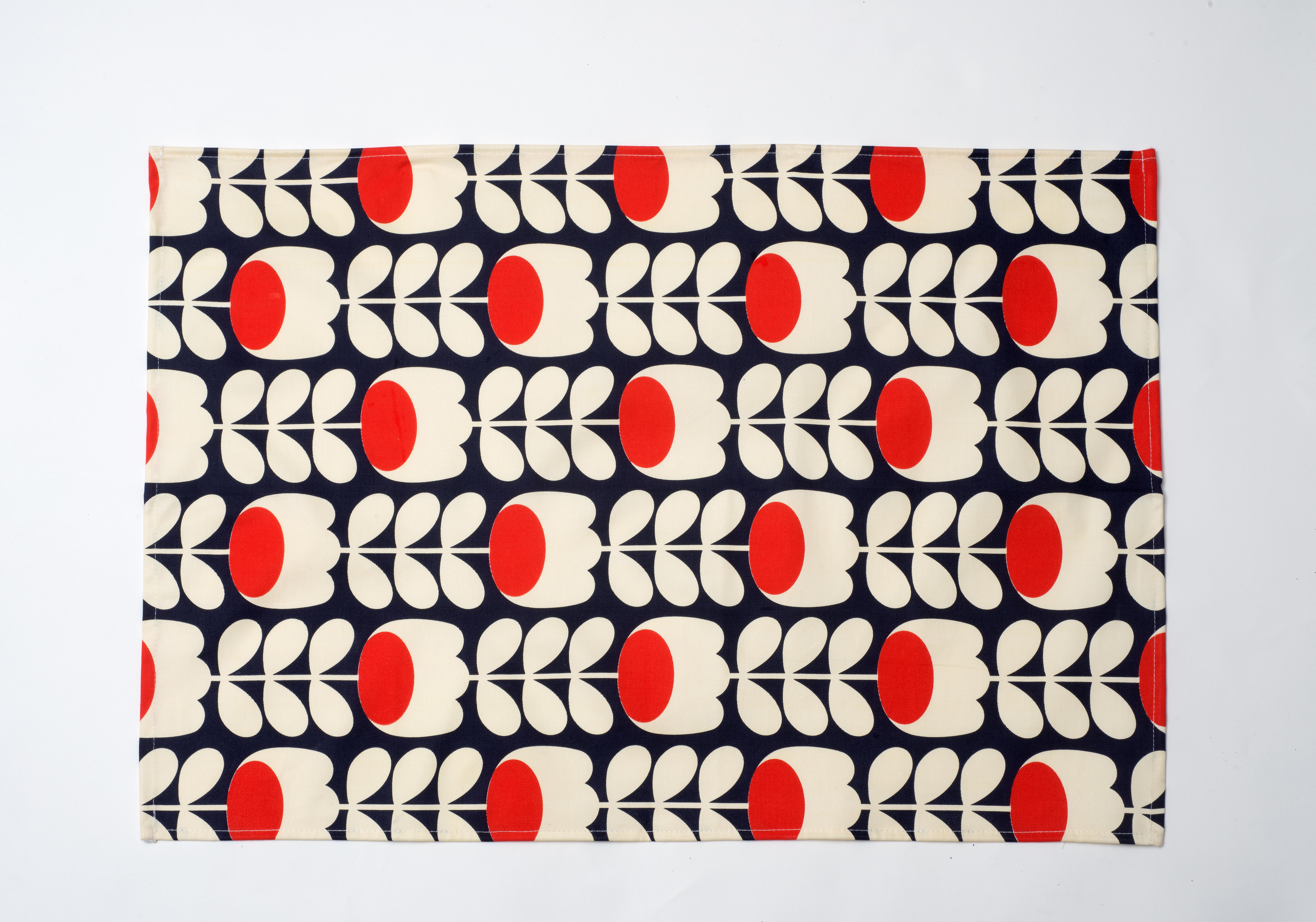 Torchon imprim+® bicolore - 7e
