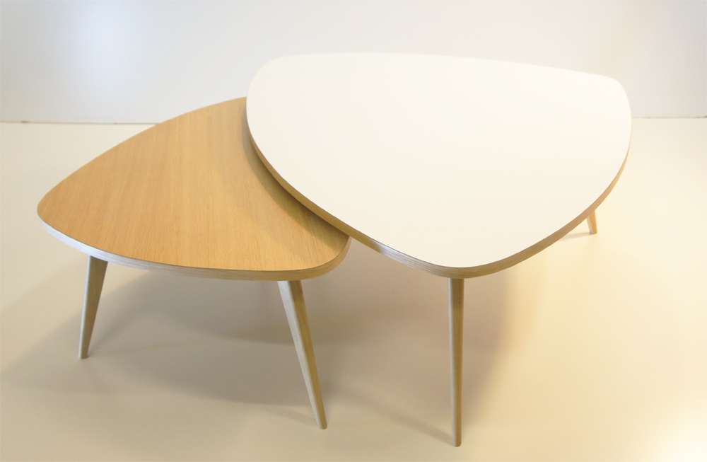 La table basse parfaite pour votre salon rise and shine - Table basse ronde alinea ...