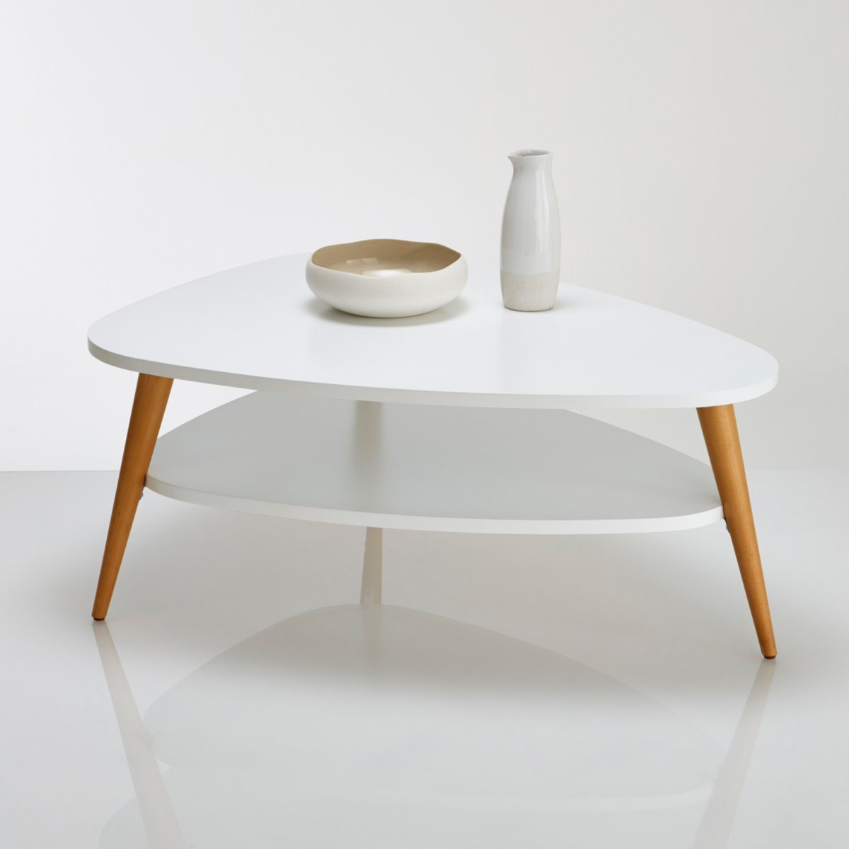 La table basse parfaite pour votre salon rise and shine for La redoute table