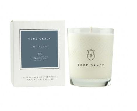 Bougie Village Parfum Thé au Jasmin - True Grace, The Conran Shop, 29€