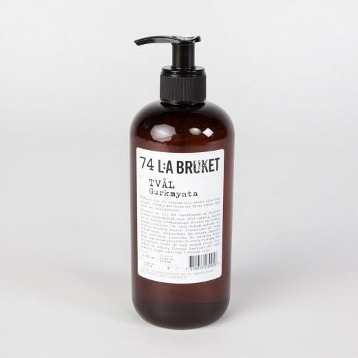 Savon liquide Concombre / Menthe L:A BRUKET, Parfaites, 19€