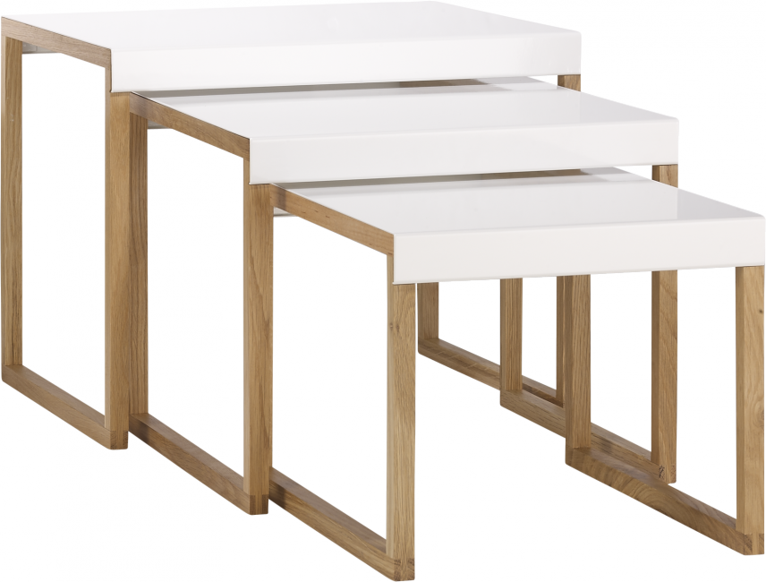La table basse parfaite pour votre salon rise and shine for Table gigogne ikea