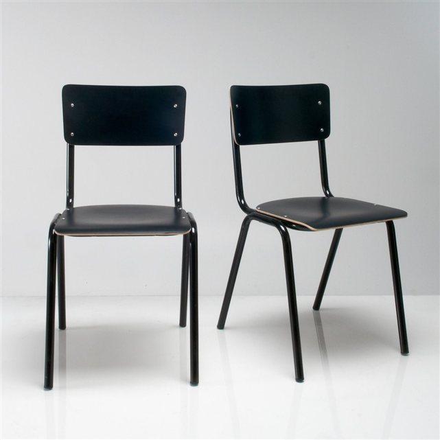Chaises d'écolier Hiba (lot  de 2) , 149,80€