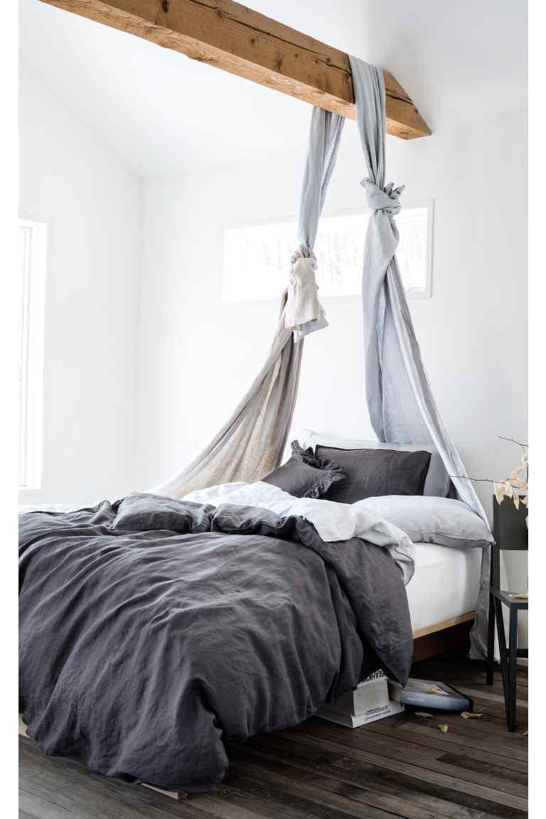 parure de lit en lin hetm