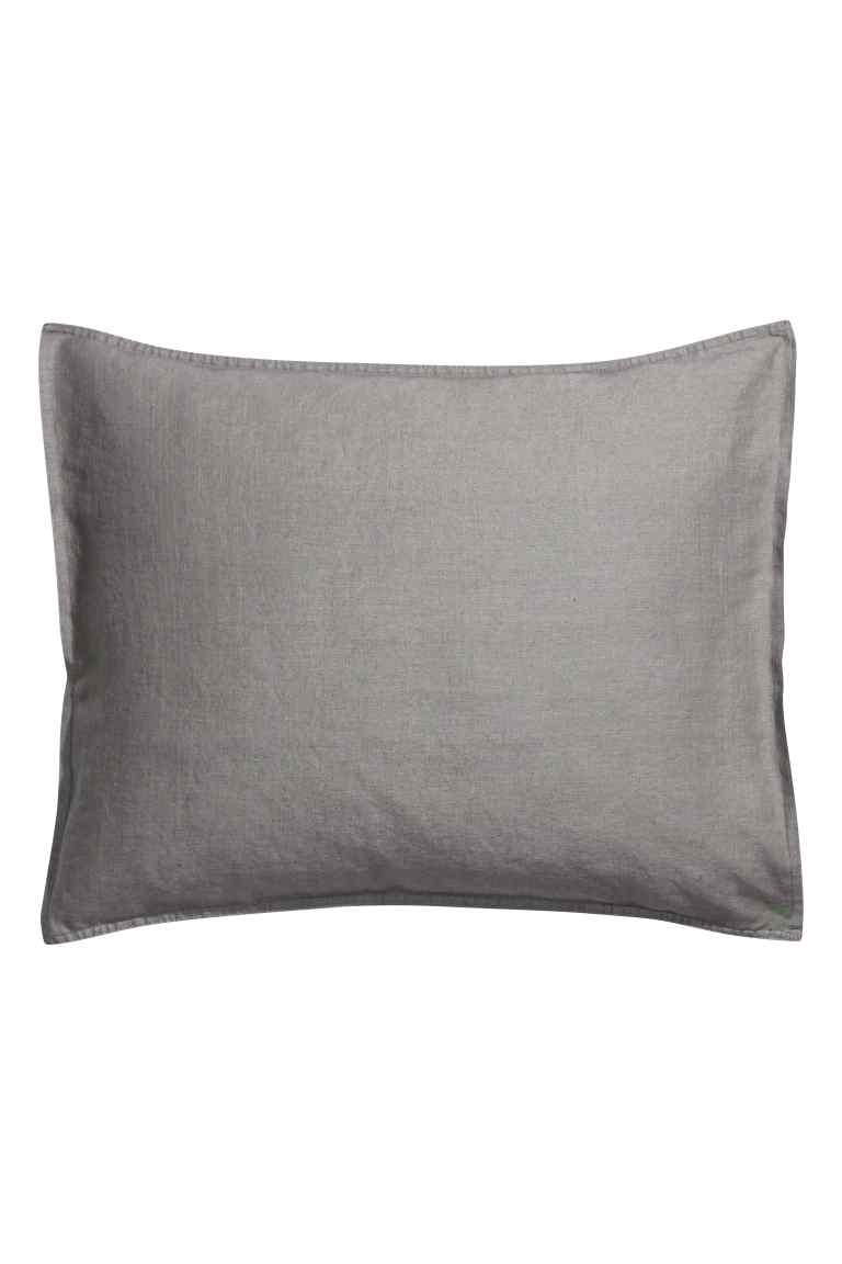 parure de lit en lin h m home rise and shine. Black Bedroom Furniture Sets. Home Design Ideas