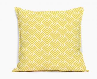 coussin-design-entrelacs-jaune-motif-japonais